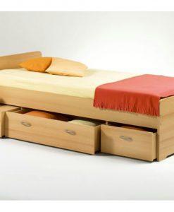 Postel  TEREZA - Postele barva dřeva - Sconto nábytek