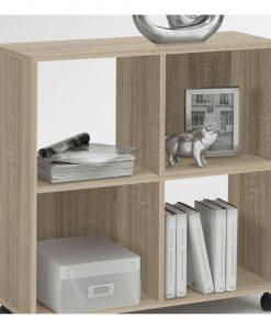 Regál  SPRINT - Regály barva dřeva - Sconto nábytek