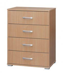 Komoda  G 60 S4 - Komody barva dřeva - Sconto nábytek