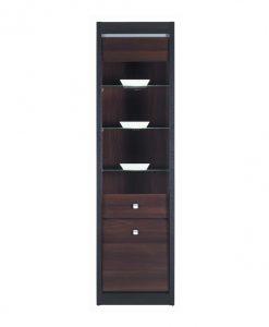 Vitrína   MALLORCA FR8 - Vitríny barva dřeva - Sconto nábytek