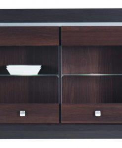 Závěsná vitrína   MALLORCA FR17 - Vitríny barva dřeva - Sconto nábytek