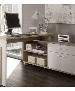 Rohový psací stůl  MANAGER - Stoly a stolky  - Sconto nábytek
