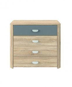 Komoda   YOOP - Komody barva dřeva - Sconto nábytek
