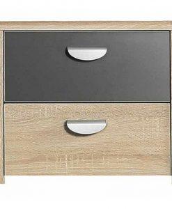 Noční stolek  YOOP - Noční stolky barva dřeva - Sconto nábytek
