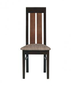 Židle  NONA - Židle hnědá - Sconto nábytek