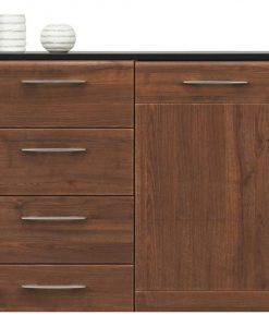 Komoda  NONA - Komody barva dřeva - Sconto nábytek