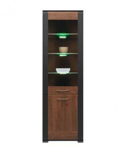 Vitrína   NONA - Vitríny barva dřeva - Sconto nábytek