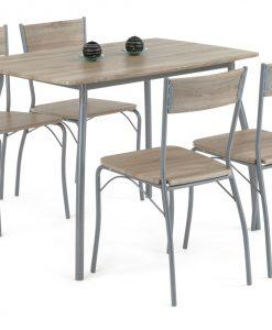 Jídelní sestava   HANS SON - Židle vícebarevná - Sconto nábytek