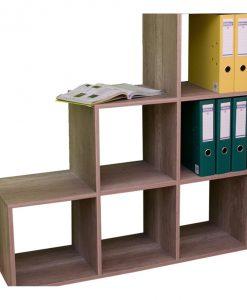 Regál   SYNERGY - Regály barva dřeva - Sconto nábytek