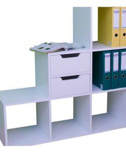 Regál   SYNERGY PLUS - Regály bílá - Sconto nábytek