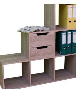 Regál   SYNERGY PLUS - Regály barva dřeva - Sconto nábytek