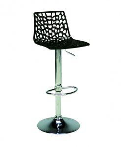 Barová židle SPIDER  SPIDER - Židle černá - Sconto nábytek