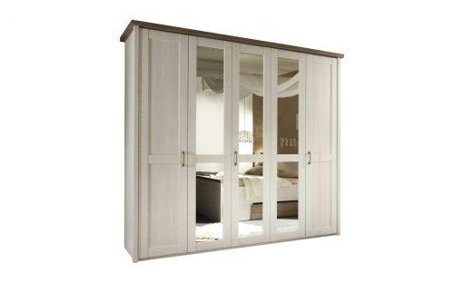 Šatní skříň   LUCA – Šatní skříně bílá