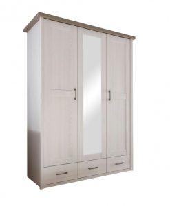 Šatní skříň  LUCA - Šatní skříně barva dřeva - Sconto nábytek