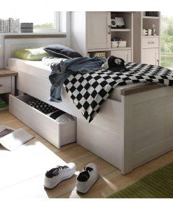 Dětská postel  LUCA - Postele barva dřeva - Sconto nábytek