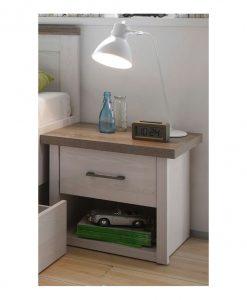 Noční stolek   LUCA - Noční stolky vícebarevná - Sconto nábytek
