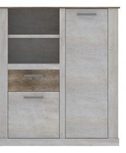Komoda   DURO - Komody barva dřeva - Sconto nábytek