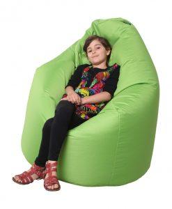 Sedací pytel BUZZ GREEN  BUZZ - Sedací pytle a vaky zelená - Sconto nábytek