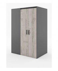 Rohová šatní skříň  SANTANA SA-00P - Šatní skříně vícebarevná - Sconto nábytek