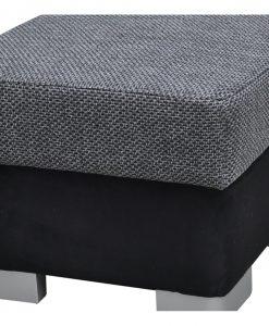 Taburet  AVENUE 96 - Taburety šedá - Sconto nábytek