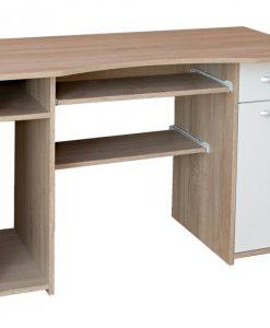 PC stůl   LINDA - Stoly a stolky barva dřeva - Sconto nábytek