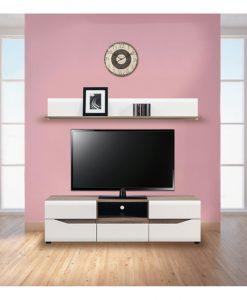 TV sestava   LUCY - Obývací stěny bílá - Sconto nábytek