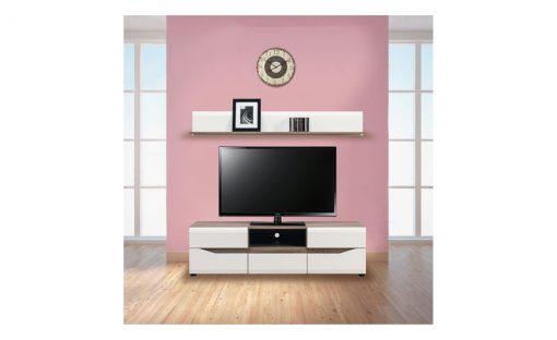 TV sestava   LUCY – Obývací stěny bílá