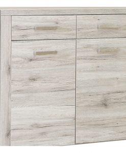 Botník   PORTLAND - Skrinky na topánky barva dřeva - Sconto nábytek