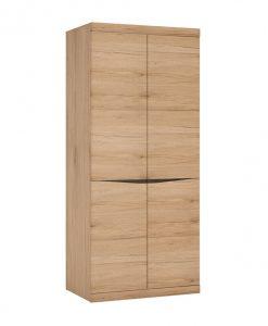 Šatní skříň   SUMMER - Šatní skříně barva dřeva - Sconto nábytek