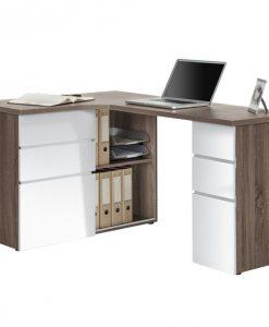 Psací stůl   9543 - Stoly a stolky bílá - Sconto nábytek