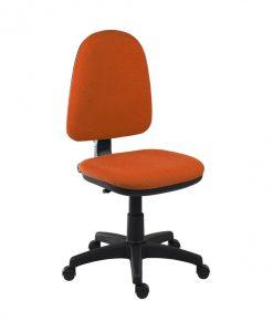 Otočná židle   ELKE - Židle oranžová - Sconto nábytek