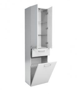 Vysoká koupelnová skříňka  FILO - Koupelnové skříňky  - Sconto nábytek