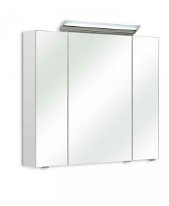 Zrcadlová skříňka s osvětlením  FILO 040 - Koupelnové skříňky  - Sconto nábytek