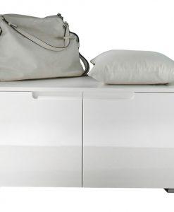 Lavice / botník   SPICE - Skrinky na topánky bílá - Sconto nábytek