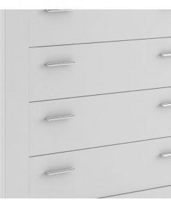 Komoda   IDEA WHITE 10 - Komody bílá - Sconto nábytek