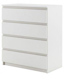 Komoda   IDEA 06 WT - Komody bílá - Sconto nábytek