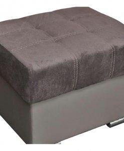 Taburet  SOUL - Taburety šedá - Sconto nábytek