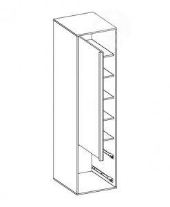 Šatní skříň  PHILOSOPHY PH-03 - Šatní skříně bílá - Sconto nábytek