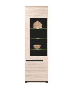 Vitrína  ENIS DS6 - Vitríny barva dřeva - Sconto nábytek