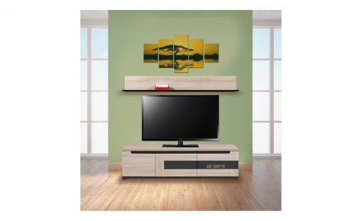 TV sestava  ENIS – Obývací stěny barva dřeva