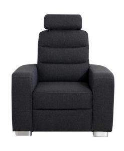 Křeslo  QUEENS - Křesla šedá - Sconto nábytek
