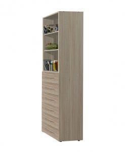 Víceúčelová skříň   MULTIRAUMKONZEPT 639 - Šatní skříně barva dřeva - Sconto nábytek