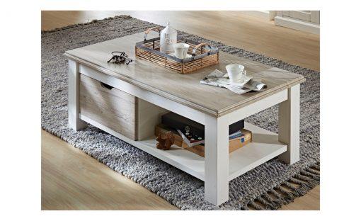Konferenční stolek  LIMA 02 – Stoly a stolky bílá