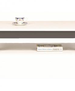 Konferenční stolek   GREY - Stoly a stolky bílá - Sconto nábytek