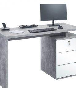 Psací stůl  4056 - Stoly a stolky šedá - Sconto nábytek