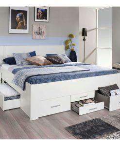 Postel  ISOTTA WT - Postele bílá - Sconto nábytek