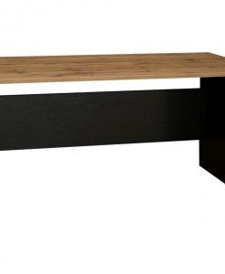Psací stůl   BÁRA SC 208 - Stoly a stolky černá - Sconto nábytek
