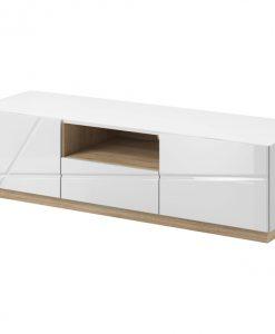 TV stolek  FUTURA 03 - TV stolky bílá - Sconto nábytek