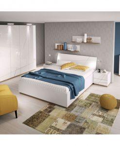Postel   FUTURA 13 - Postele bílá - Sconto nábytek