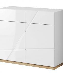 Komoda   FUTURA 15 - Komody bílá - Sconto nábytek
